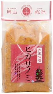 赤米味噌ヒカリノミ